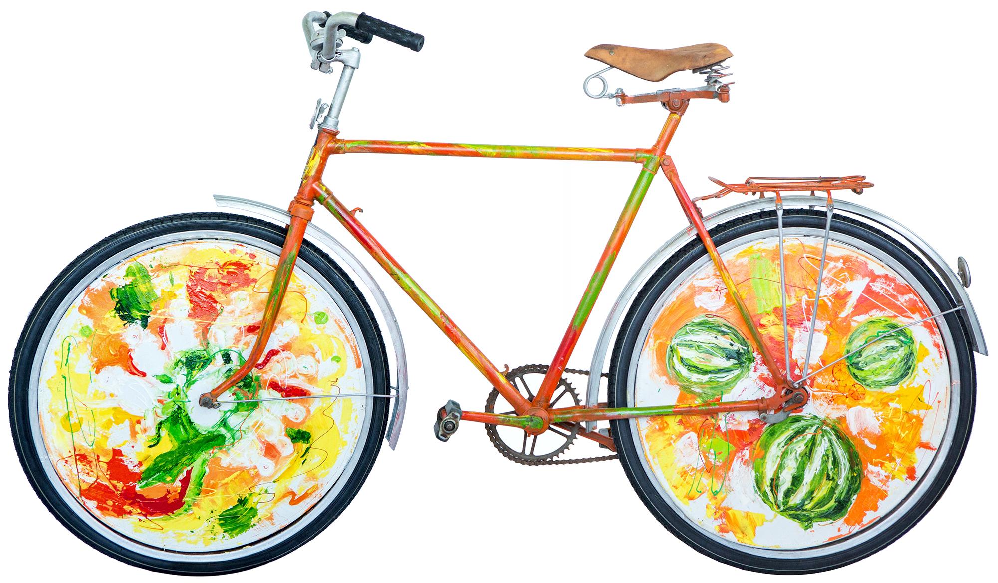Olga Kosheleva Cosmic bike Side B 2016