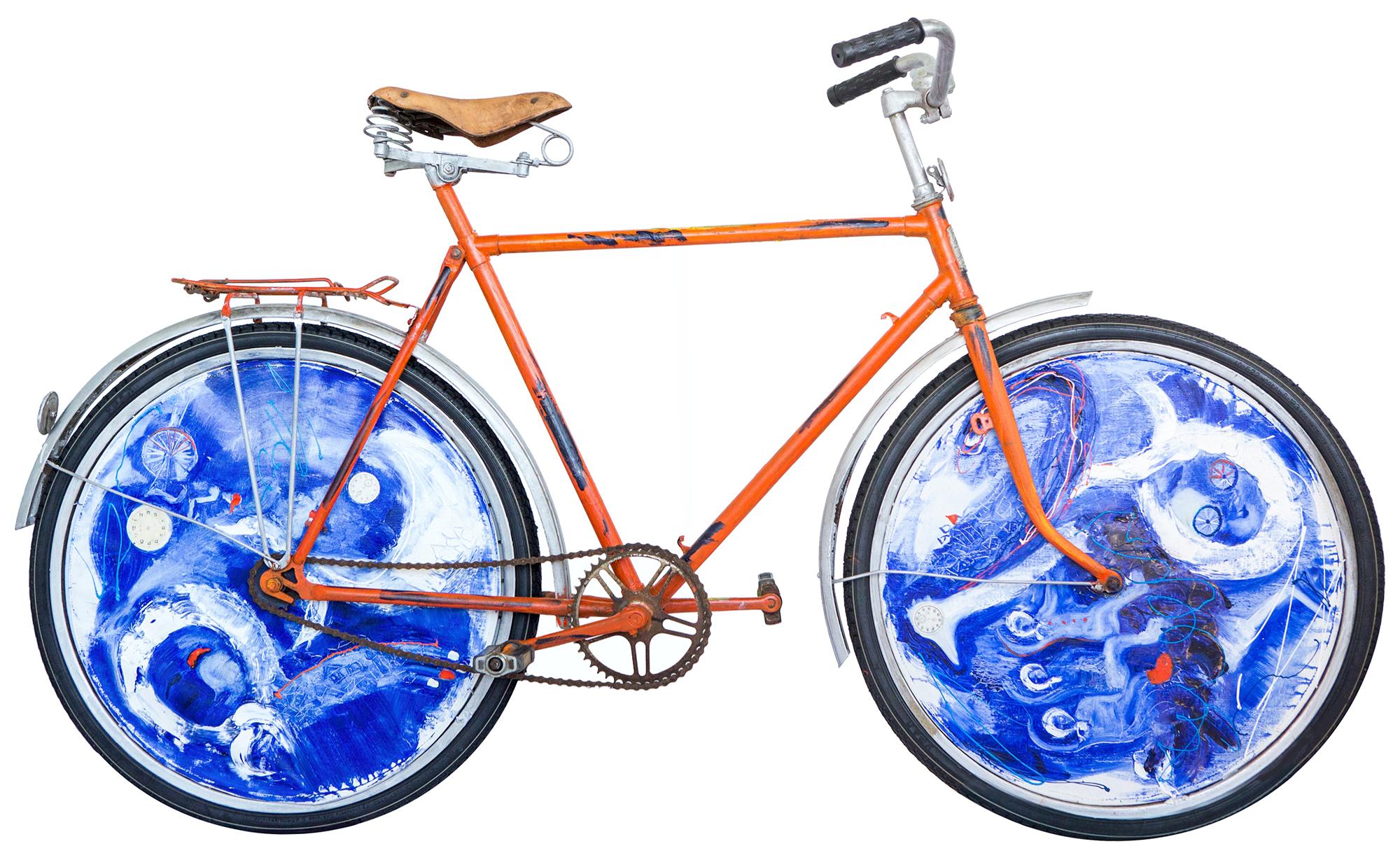 Olga Kosheleva Cosmic bike Side A 2016