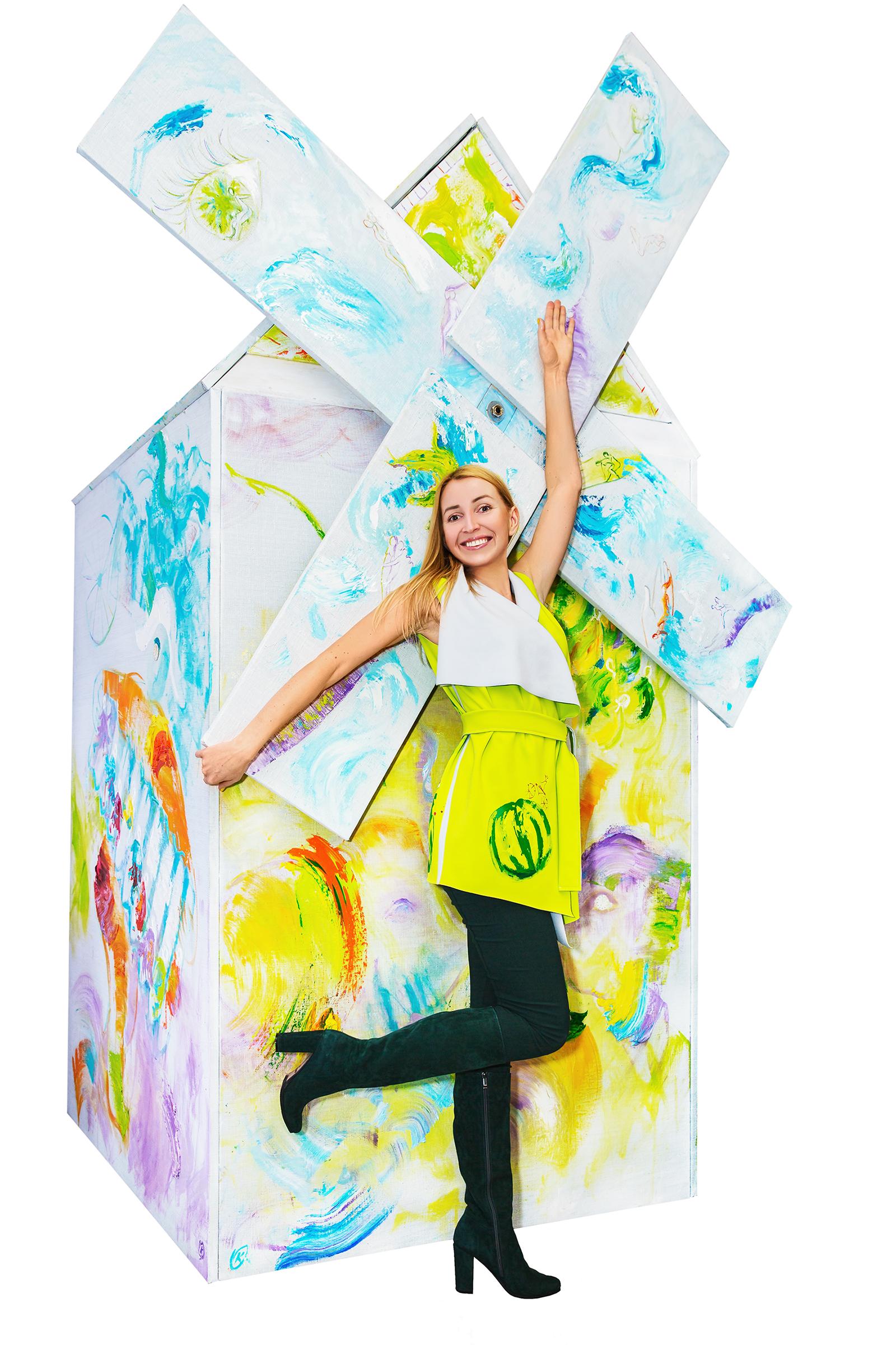 Olga Kosheleva Windmill of love 2016